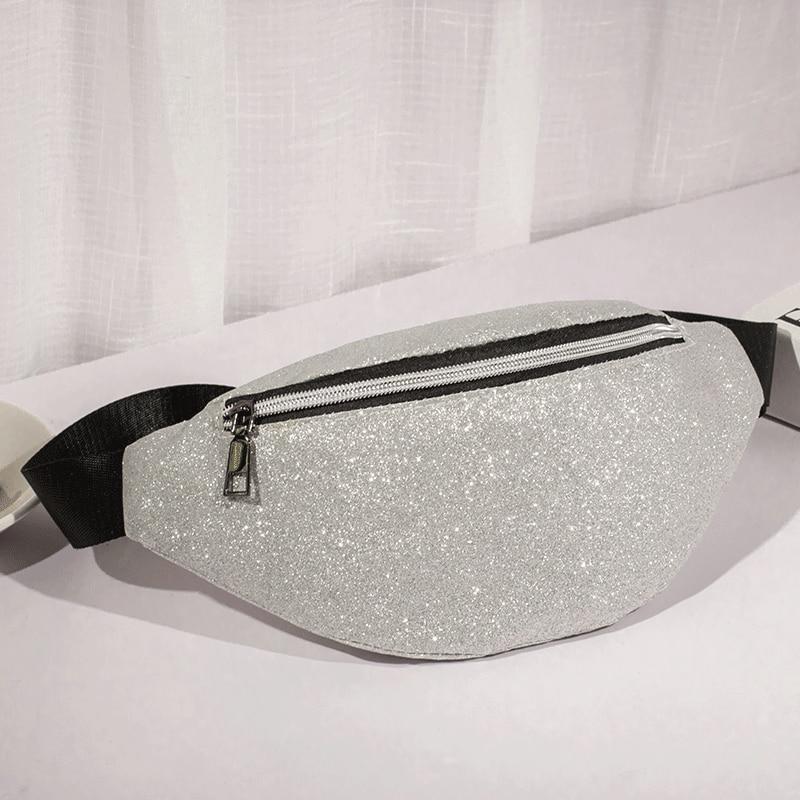 Pacote de Cintura bolsa LXFZQ holográfico laser perna saco Da Cintura Bloco de Fanny Bolsas Feminina Bolsas sac banane rosa heuptas saco bum saco coxa