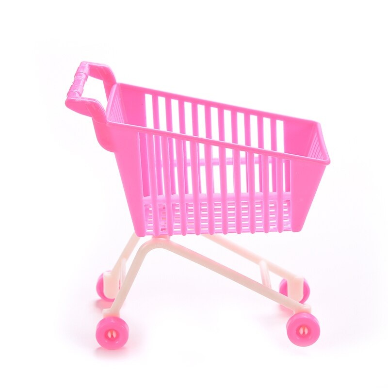 1 pièces Mini panier pour poupée classique jouets chariots pour enfants filles cadeau danniversaire poupées accessoires aléatoire