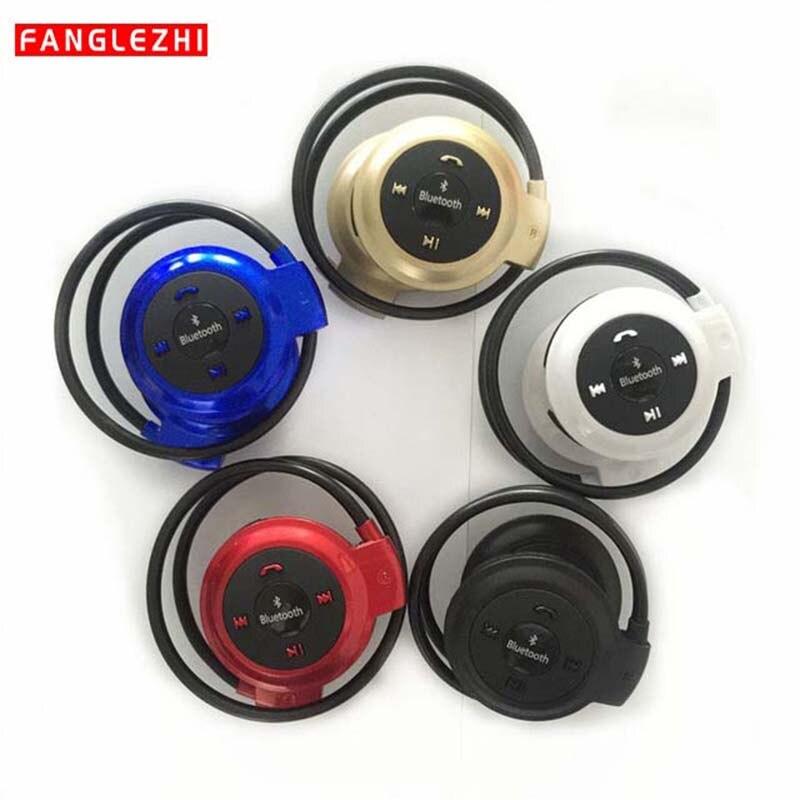 Auriculares Bluetooth auriculares Bluetooth deportivos inalámbricos Mini 503 Bluetooth + tarjeta TF + Radio FM para teléfono PC TV