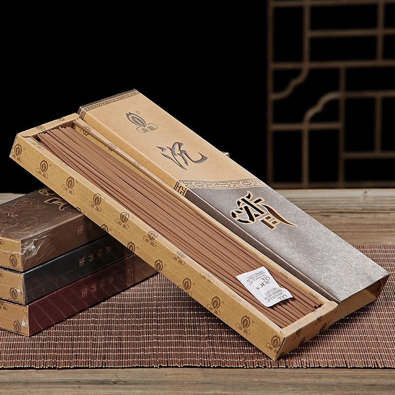 Caixa de Presente Incenso em Massa Vara para Sala Sândalo Tibetano Incenso Varas Hotel Yoga Quarto Casa Fragrância 27cm Healty n 300g