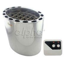 Chauffe-eau du sauna SUS 50HZ 9KW380-413V   Livraison gratuite, avec contrôleur de commutateur, conforme à la norme CE