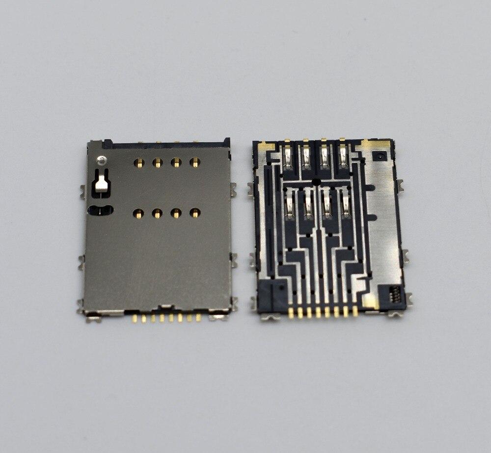 5 unids/lote nuevo Original para Samsung p5100 p7500 p7100 w899 lector de tarjetas sim bandeja conector envío gratis