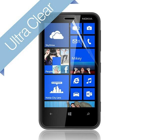 High Clear Screen Protector Protective Film Guard For Nokia Lumia 620