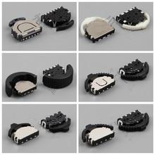 10 Pcs 3/4/6 Pin 5 Way Momentary Push Button SMD SMT Mini Tact Taktile Schalter