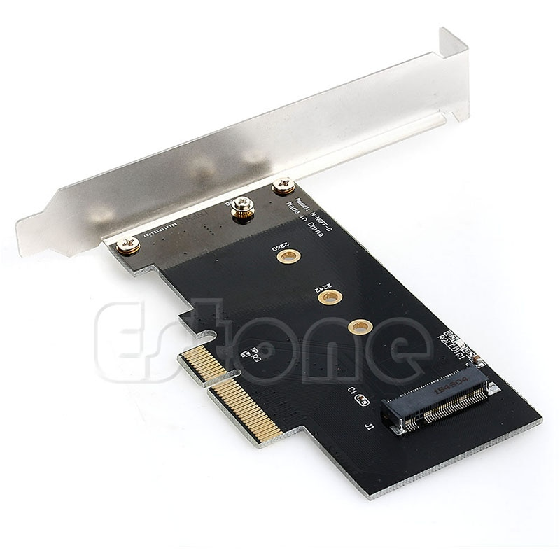 Neue Adapter Karte zu PCI-E x4 für M.2 NGFF SSD XP941 SM951 PM951 M6E 950 PRO SSD heißer
