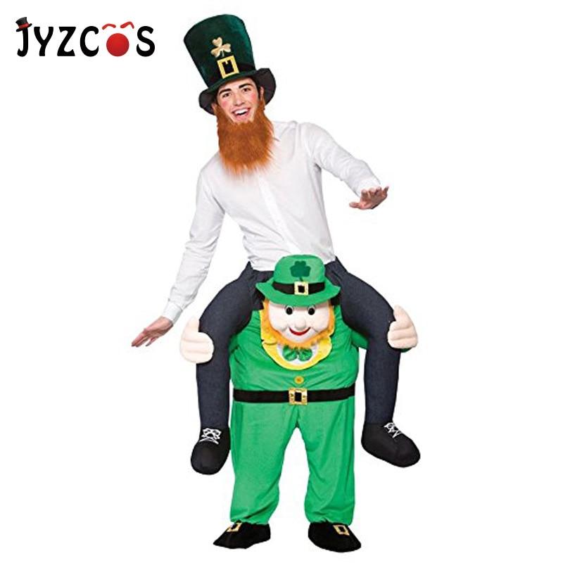 JYZCOS adulto paseo en disfraz de elfo paseo en mí traje llevar de vuelta novedad pantalones juguetes Purim accesorios de Cosplay para Halloween regalo de cumpleaños
