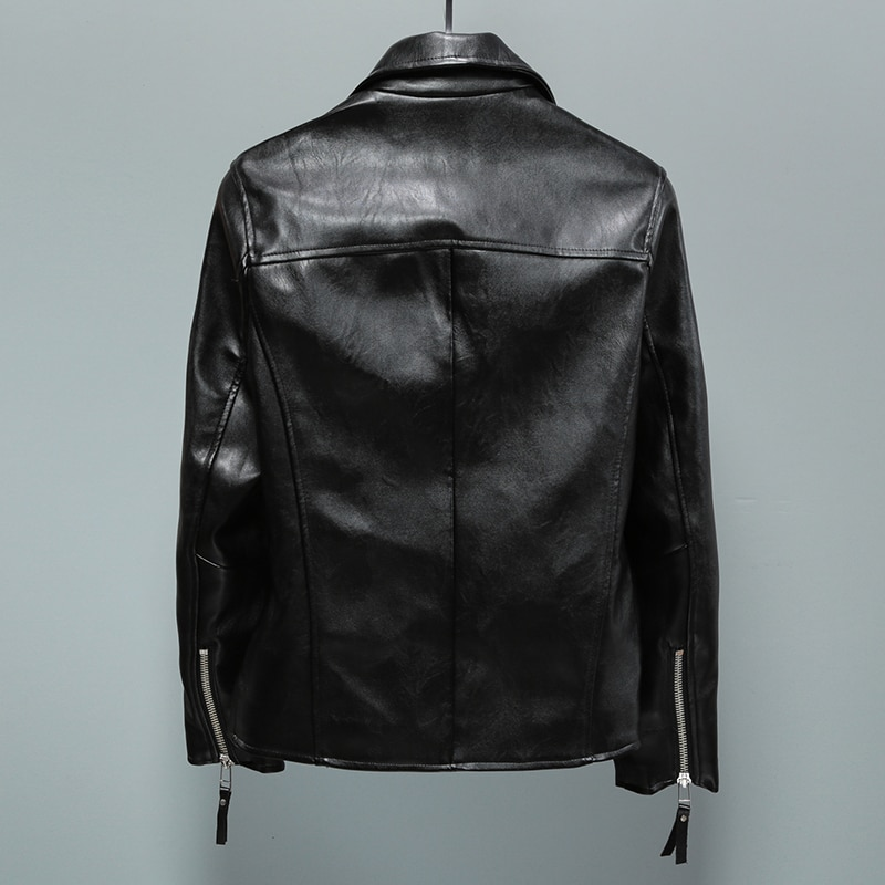 Original men's clothing contracted fashion locomotive PU leather jacket man. S-2XL!!