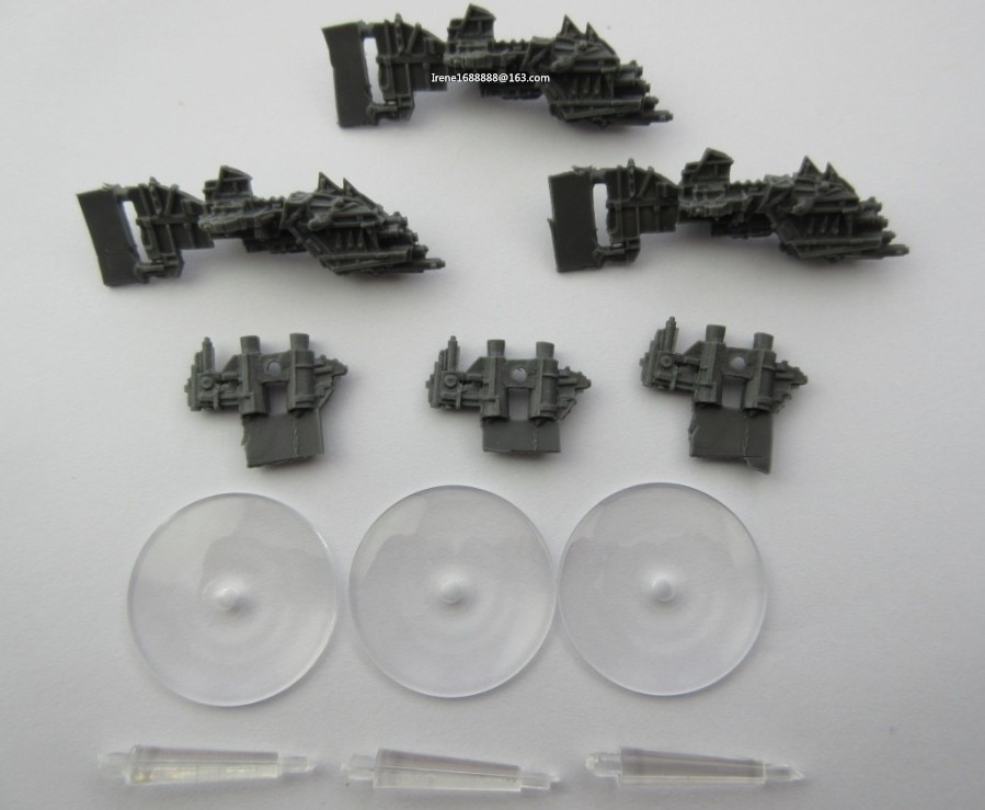 Modelos de Resina clásica Gótica SALVAJE Battlefleet GUNSHIP * 3 Envío Gratis