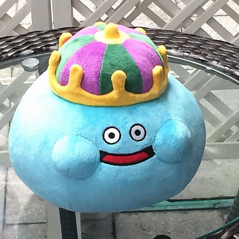Dragon Quest Smile Slime плюшевые куклы King Slime L 22 см