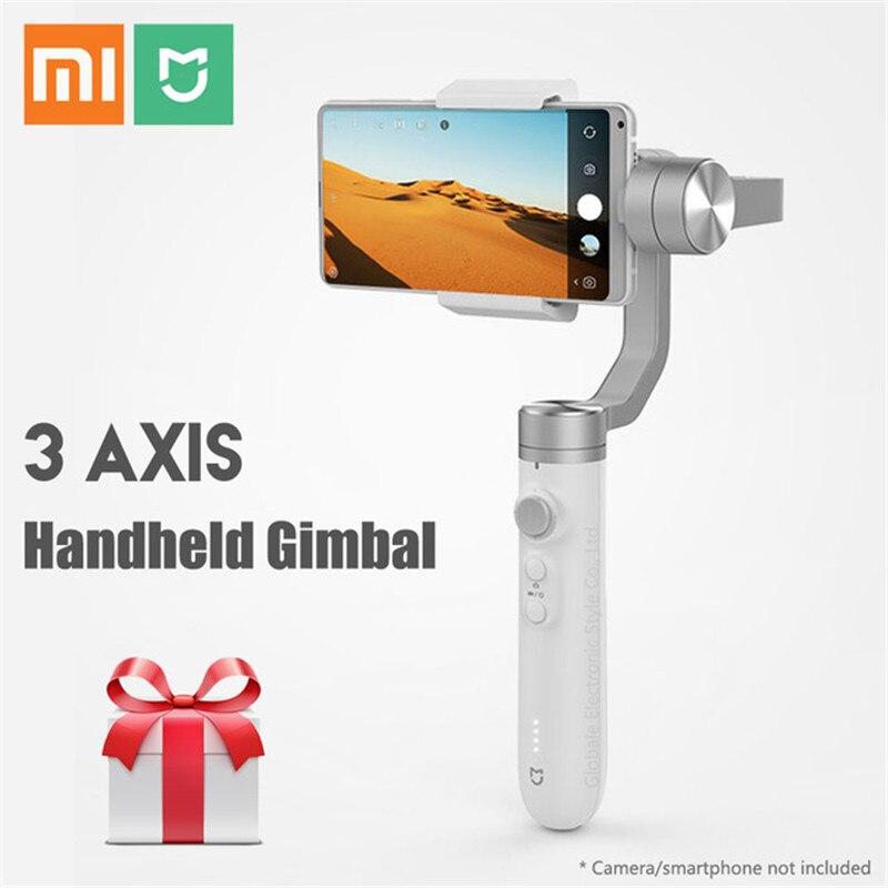 Xiaomi Mijia 3 smart remoto contrl Axis Handheld Gimbal estabilizador con batería de 5000mAh para Cámara de Acción Phone Mix 2 2S