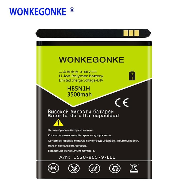 WONKEGONKE HB5N1H Bateria para Huawei Ascend G300 G305T U8818 U8815 C8812 U8825D C8825D T8828 M660 Y320 G330D bateria