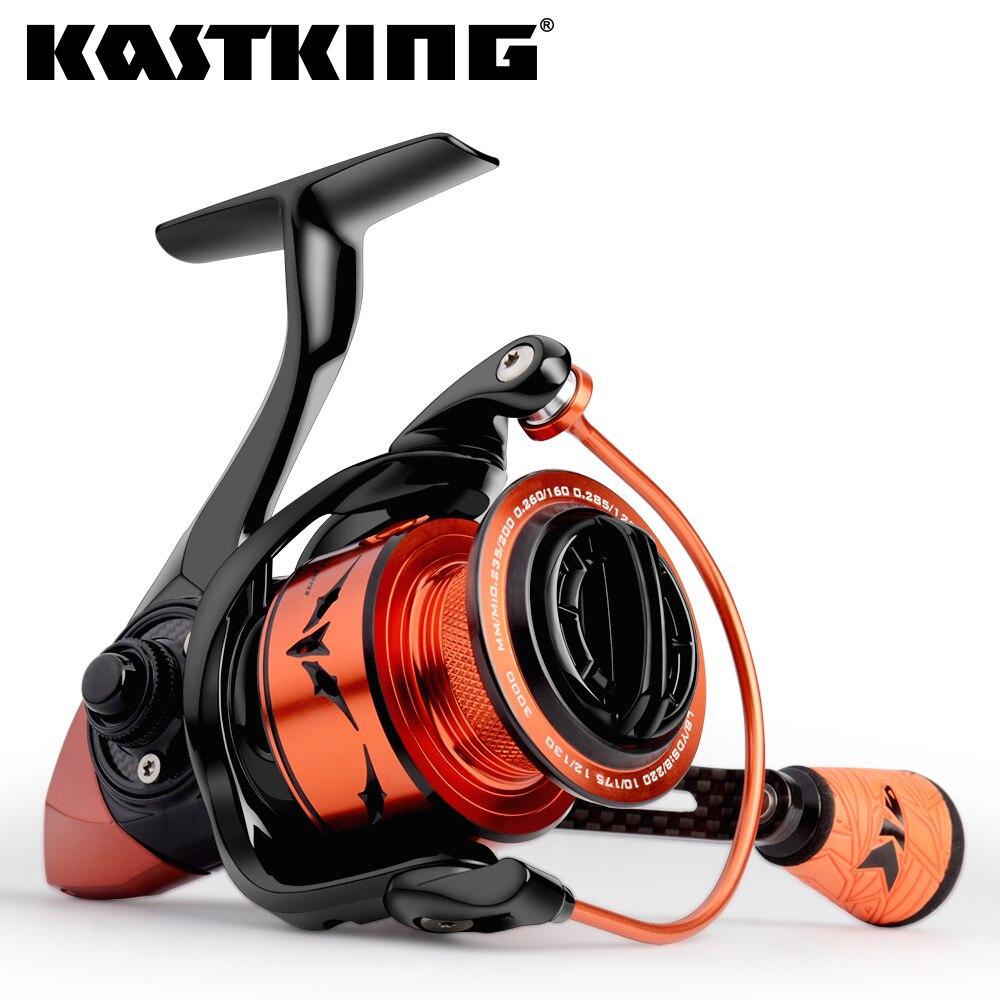 Carrete de pesca KastKing Speed Demon Pro Spinning 11,34 kg Drag 7,2 1 ratio de engranaje 10 + 1 BBS, bobina de pesca de agua salada de alta velocidad
