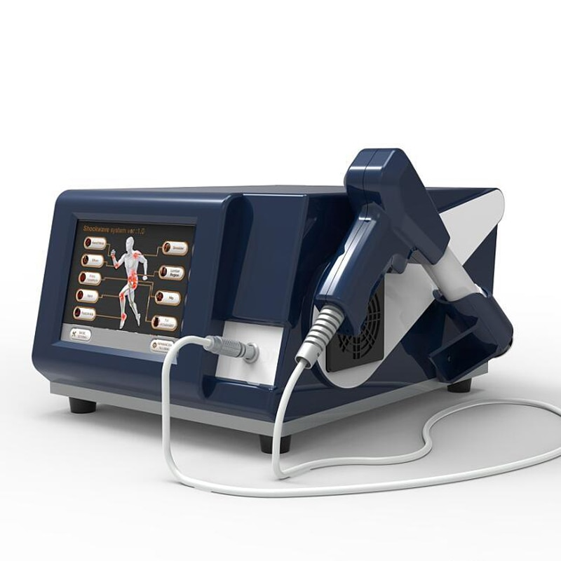 6 Bar Pneumatic Shock Wave Machine Physiotherapy For Erectile Dysfunction Extracorporeal Therapy