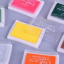 Tampon encre carré couleur Pure 5.2*7.2cm   mini tampon-éponge, bricolage, papeterie fournitures scolaires