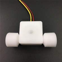 0.1~1.5L/min  G1/2  Plastic POM Food grade Water Hall flow sensor meter for beer coffee machine