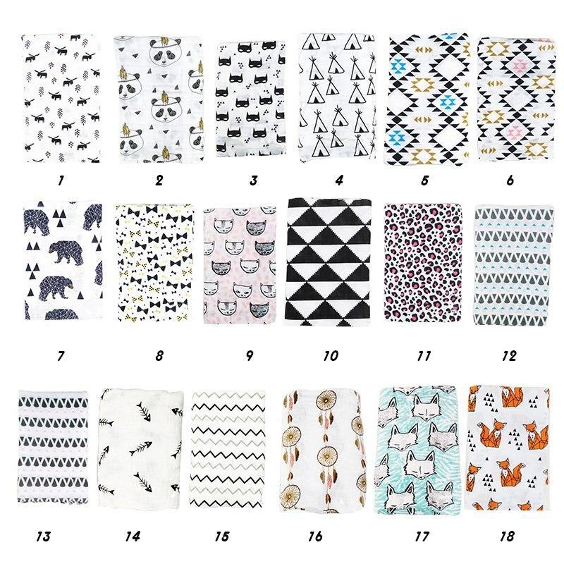 Муслин детское одеяло для пеленания, детское банное полотенце для новорожденных, одеяло для пеленания, многофункциональный дизайн, Детская...