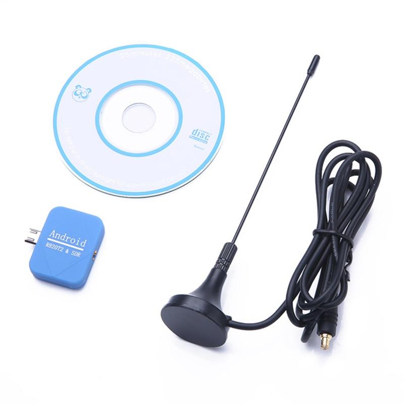 TTKK para teléfonos Android Dongle USB SDR + R820T2 DVB-T SDR sintonizador de TV receptor de Radio