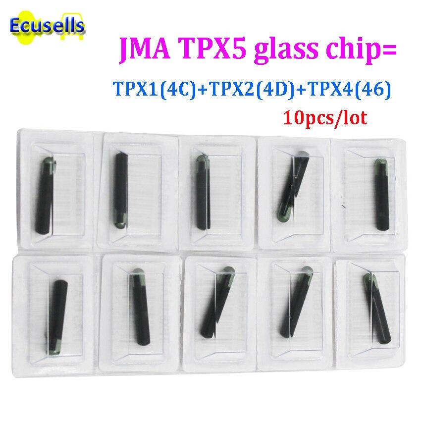 5 adet/10 adet Transponder çip cloner TPX5 3 In 1 (dahil TPX1 TPX2 TPX4) JMA TPX5 cam çip