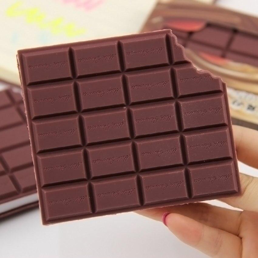 1 шт. Новейший Удобный канцелярский блокнот, блокнот для шоколада, блокнот для рукоделия, канцелярские принадлежности для студентов