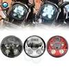 5-3/4 5.75 אינץ אופנוע לבן LED פנס אור עמיד למים עבור אופנוע מקרן פנסים עבור ברזל 883