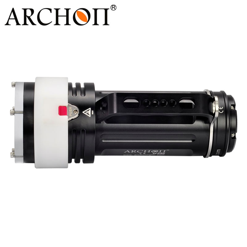 ARCHON DG90 Rechargeable Underwater Dive Torch Cree SST-90 2200lm 200M Waterproof Handle Diving Light with 18650 Battery pack enlarge
