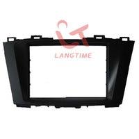 Free shipping-Car refitting DVD frameDVD panelDash KitFasciaRadio FrameAudio frame for 2011 Mazda 5 2DIN