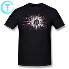 Black Mirror T Shirt Black Mirror T-Shirt Short-Sleeve Mens Tee Shirt Print Funny Fashion Cotton Ove