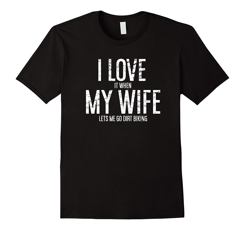 Мужская футболка для мотокросса, летняя футболка с надписью Love Wife Dirt Biking