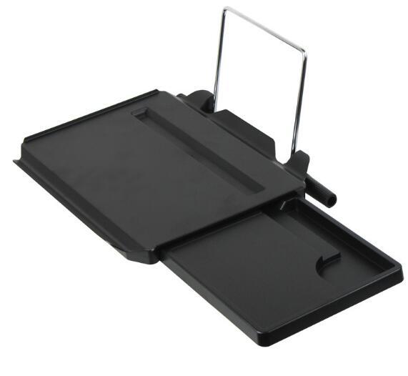 Asiento portátil para coche, volante para portátil, bandeja para portátil, mesa plegable para ordenador portátil para coche, soporte para ordenador portátil, soporte para alimentos y bebidas