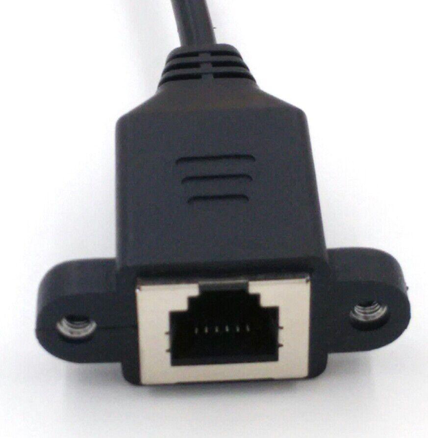 Cable de extensión de teléfono RJ12 6p6c, cable macho a hembra 11 6P6C con producto de fábrica de la marca shield