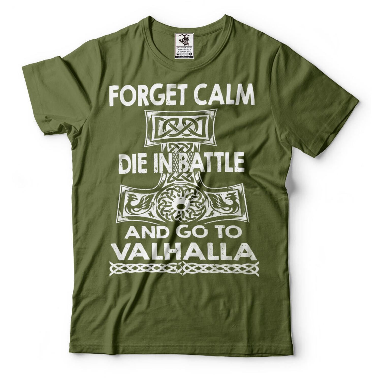 Valhalla guerra Riors vikingo camiseta vikingos Ragnar Lothbrok Bjorn escandinavo Tee