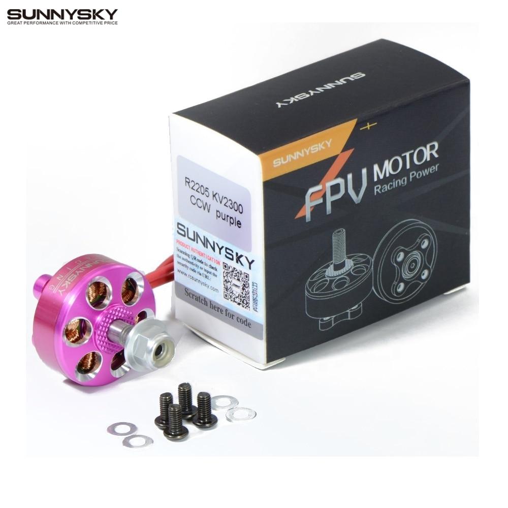 Original Sunnysky R2205 2500KV Brushless Motor CW CCW for FPV Racing Quadcopter Drone Multicopter