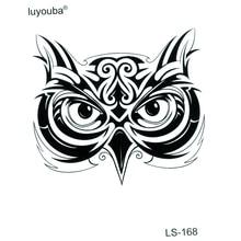 30 Uds búho tatuajes temporales calcomanías impermeables Tatuaje falso animales Tatuaje Flash niños Tatuaje de pegatinas temporales Tatuaje temporal