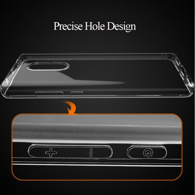 Caja transparente del teléfono del TPU para Xiaomi rojo mi nota 4X4 mundial 3 Pro primer 3 S 4A mi 4 mi 5 y mi 6 mi A1 Max suave cubierta de la Caja Capa Coque