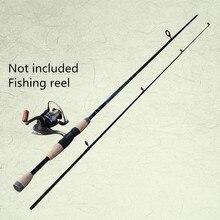 Hot 2019 1,8 m 6-12g señuelo peso carbono cañas de fundición Spinning caña de pescar M potencia dura rápida carpa caña de pesca