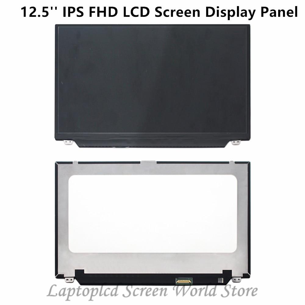 FTDLCD 12,5 IPS FHD Pantalla LCD Panel de Portátil Para NV125FHM-N41 B125HAN02.3 LP125WF4-SPF1 1920x1080 30PIN