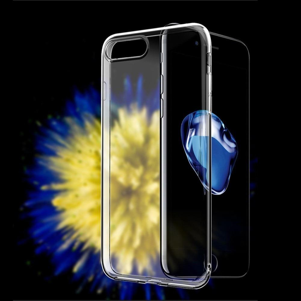 Прозрачный чехол для телефона IphoneX XR XS/MAX для Iphone 7 6 8 S Plus, нескользящий мягкий силиконовый ультра тонкий чехол-накладка на заднюю панель