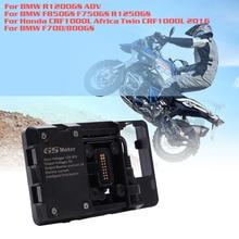BMW için R1200GS navigasyon cep telefonu ADV F700 800GS CRF1000L afrika e n e n e n e n e n e n e n e n e n e braketi Honda motosiklet USB şarj 12 MILLIME