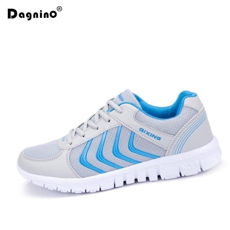 2019 nuevos zapatos casuales de moda de verano transpirables de malla de aire para mujer Zapatillas ligeras Tenis Femenino de talla grande 35-44