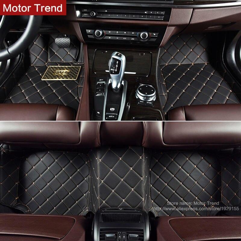 Tapetes do carro personalizado feito para Hyundai Azera Veloster cobertura completa 3D caso heavy duty carro-styling tapetes de carpete forros (2010-)