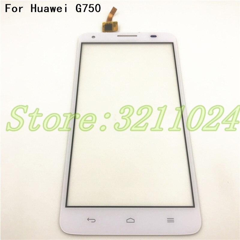 "5,5 ""pantalla táctil para Huawei Ascend G750 G750-T00 G750-U10 G750-T01 Honor 3X pantalla táctil digitalizador de Panel frontal de vidrio"