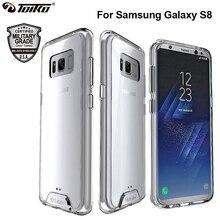 TOIKO Chiron Transparent dur PC souple TPU hybride dos couvre antichoc Protection contre les chutes coque de téléphone étuis pour Samsung Galaxy S8