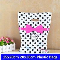 Пластиковые пакеты для хранения одежды, 10 шт., 15x20, 20x26