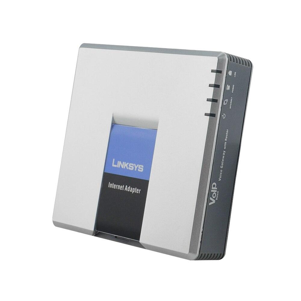 Envío Gratis! LINKSYS desbloqueado teléfono adaptador SPA3102 Voip adaptador ATA mejor SPA3102...