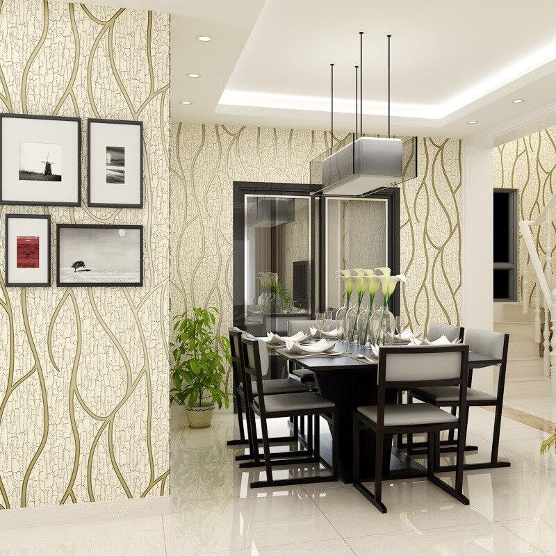 Beibehang europeu 3d estéreo rachado tarja veado pele não tecidos papel de parede quarto sala tv fundo 3d rolo