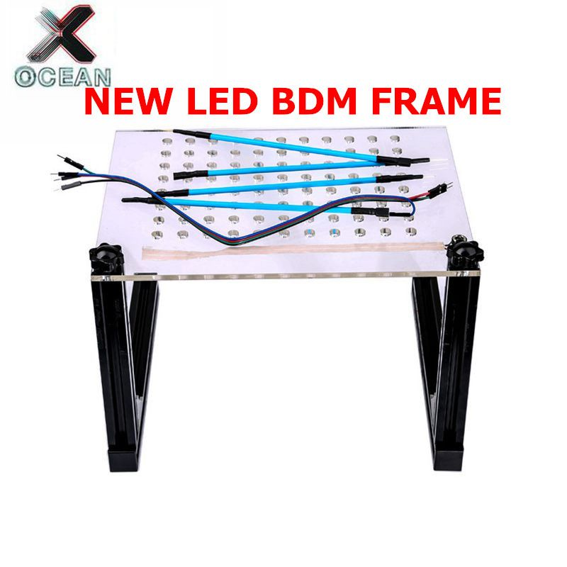 2019 New LED BDM Frame With 4 Probe Pens Full Set BDM Programmer For KTAG K-TAG KESS V2 Fgtech BDM100 Auto ECU Chip Tuning Tool