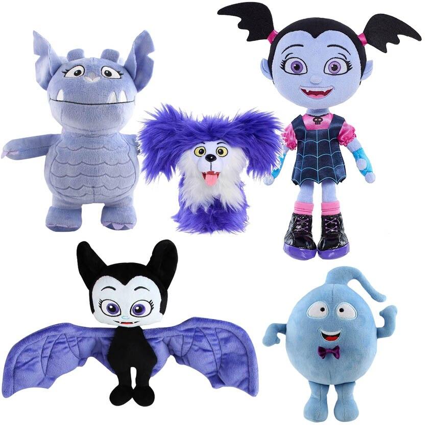 Infantil, vampiro, Wolfie, Gregoria, Demi Bat, muñeco de peluche suave para niños, 5 estilos
