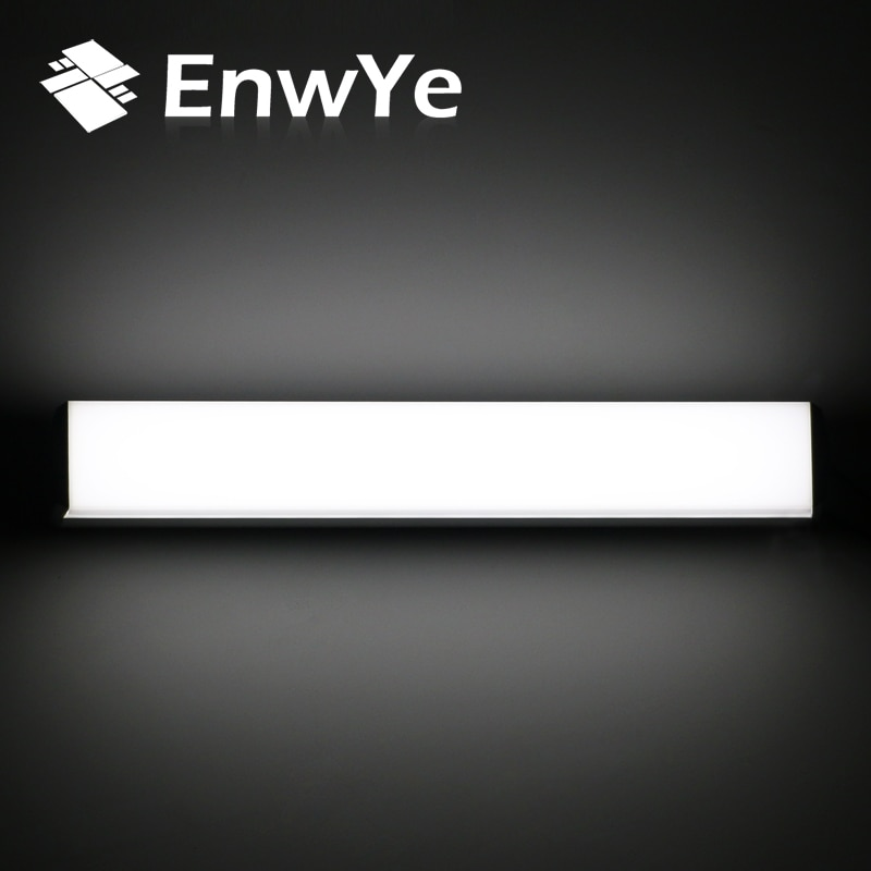 EnwYe Modern LED wall lamp mirror light 12W 16W 22W waterproof fixture AC220V 110V Acrylic wall mounted bathroom lighting BD70