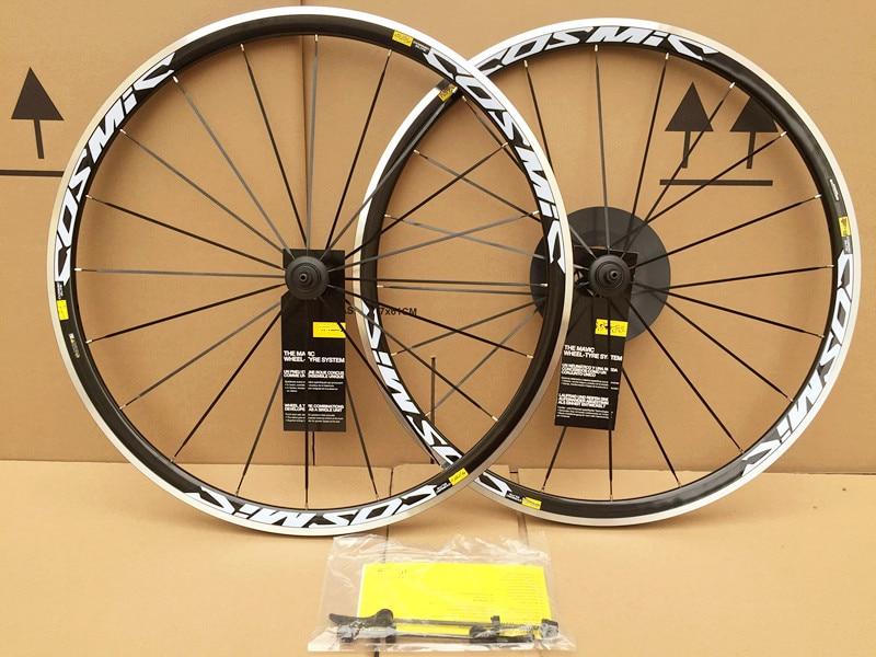 رائجة البيع 700C عجلات مصنوعة من خليط معدني الكونية الطريق دراجة دراجة عجلة الخامس الفرامل الألومنيوم العجلات دراجة العجلات الحافات