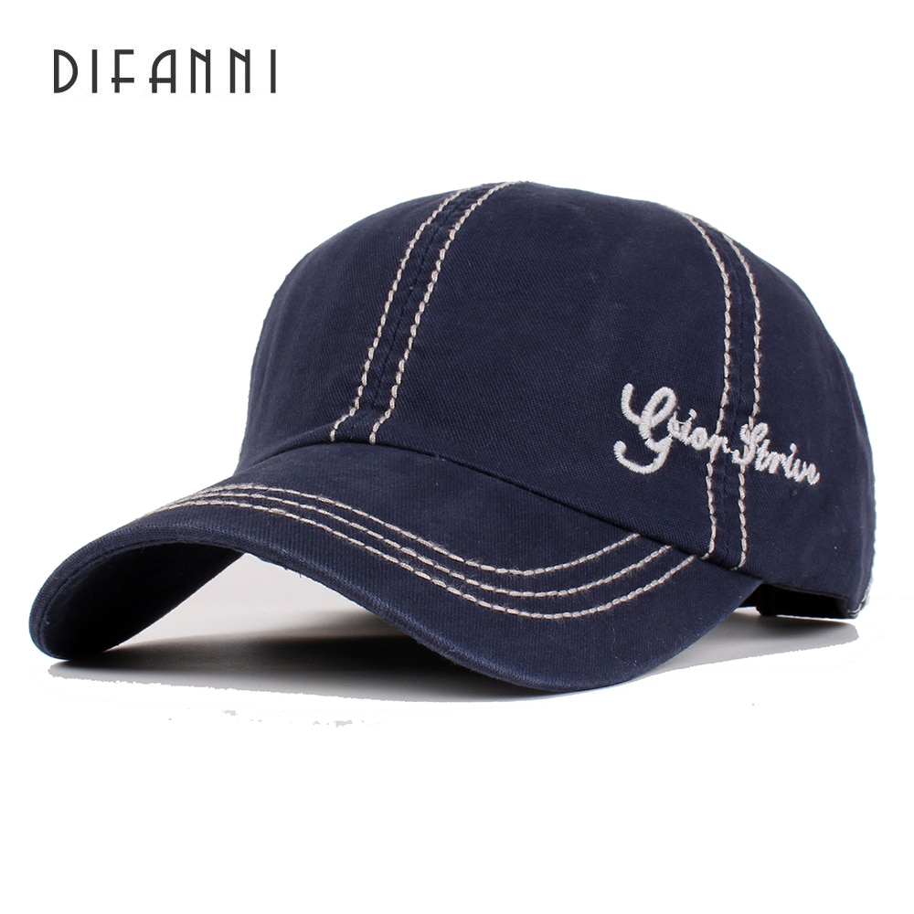 Difanni Fashion Cotton Baseball Cap Men Casquette Snapback Caps Hats For Brand Adjustable New High Quality